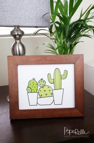 Cactus-Printable