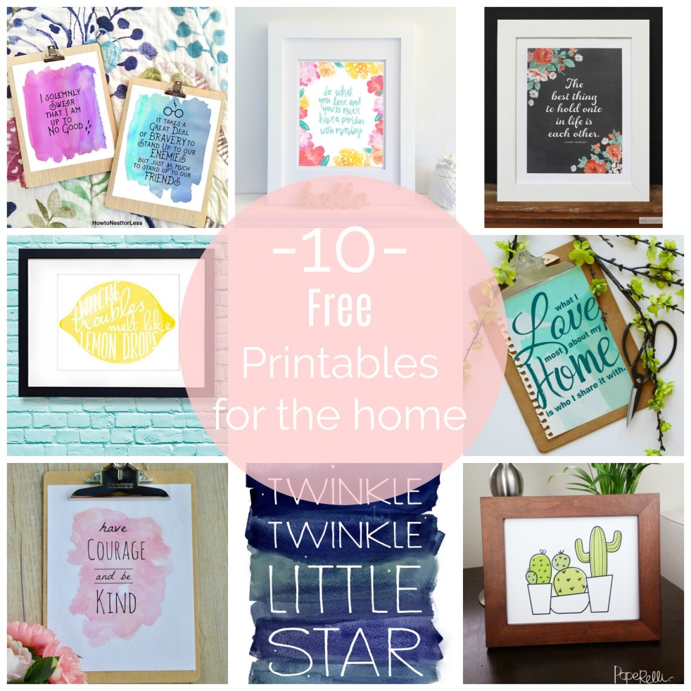 Printables Featured