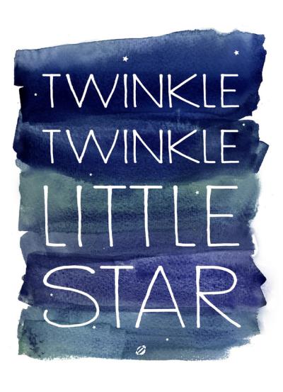 twinkle twinkle printable