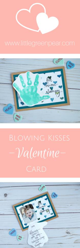 blowing kisses pin