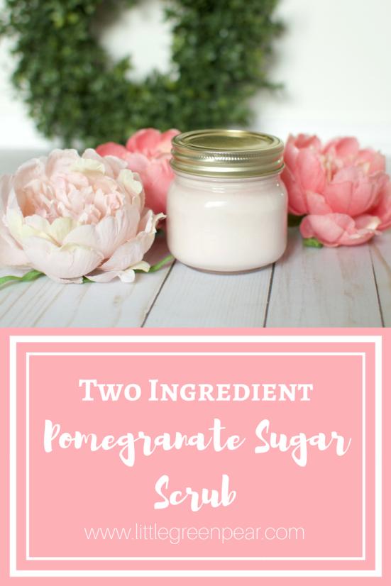 Pomegranate Sugar Scrub